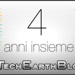 TechEarthBlog compie 4 anni!