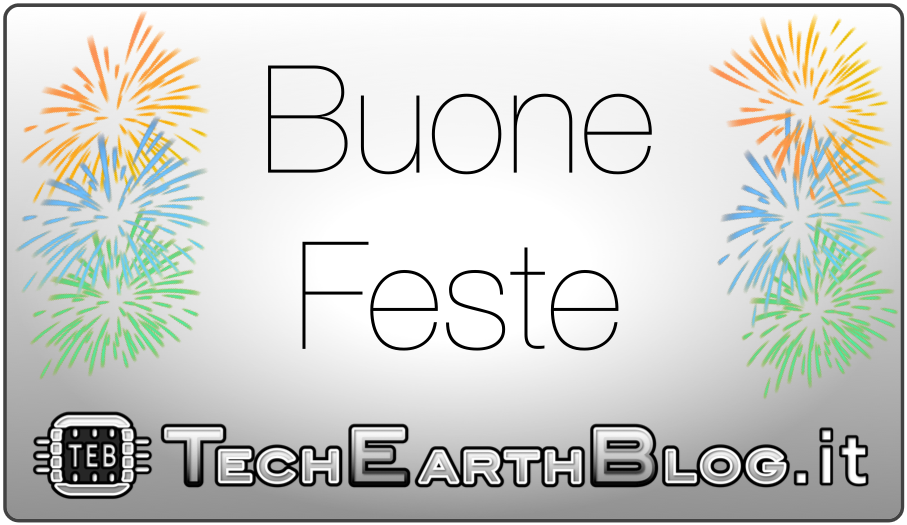TechEarthBlog vi augura Buon Natale e felice anno nuovo!