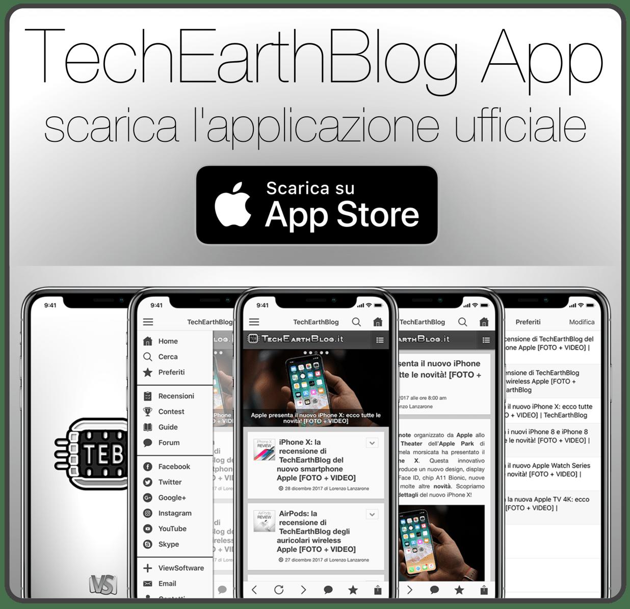 TechEarthBlog App 3.0: arriva su App Store la nuova app di TechEarthBlog per iPhone e iPad!