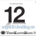 Apple Keynote – iPhone 5 segui il LiveBlog su TechEarthBlog il 12 Settembre dalle ore 18:00