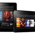 Amazon pubblicizza il Kindle Fire HD comparandolo con l'iPad di quarta generazione