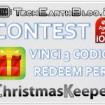 CONTEST: vinci 3 codici redeem per ChristmasKeeper con TechEarthBlog!