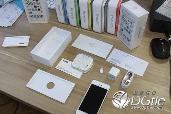 Unboxing iPhone 5C