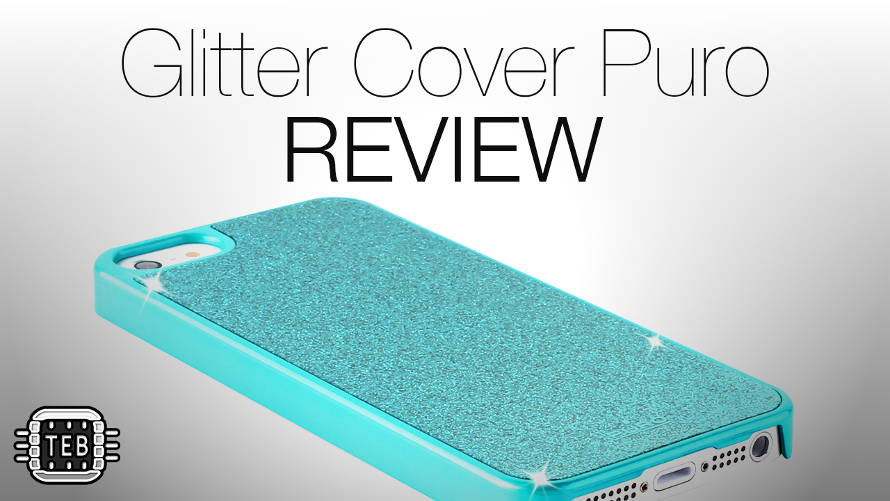 MINIATURA Glitter Cover Puro for iPhone 5 REVIEW