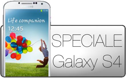 SPECIALE Galaxy S4