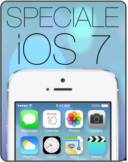 SPECIALE iOS 7