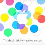 UFFICIALE: Keynote Apple fissato per il 10 Settembre, iPhone 5S e iPhone 5C in arrivo!