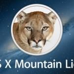 Apple rilascia l'update 10.8.5 di OS X Mountain Lion con alcune migliorie