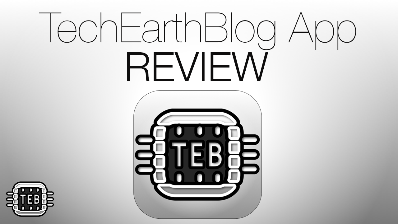 MINIATURA TechEarthBlog App REVIEW