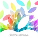 UFFICIALE: Keynote Apple il 22 Ottobre, nuovi iPad e Mac in arrivo!