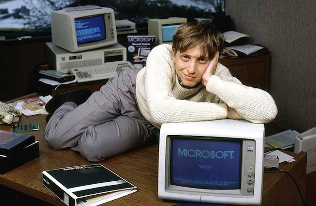 Bill Gates Windows Microsoft