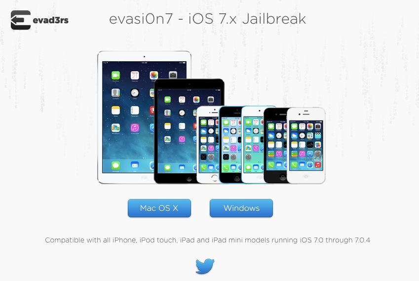 Evasi0n 7 Jailbreak