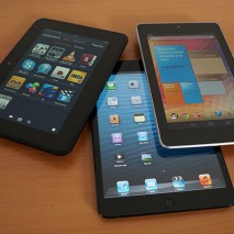 Vi proponiamo oggi un nuovo e interessante scontro: iPad Mini Retina vs Nexus7 vs Kindle Fire HDX, i tre tablet da 7 pollici più richiesti del momento. Da una parte il nuovo iPad mini con Retina Display di Apple monta iOS […]