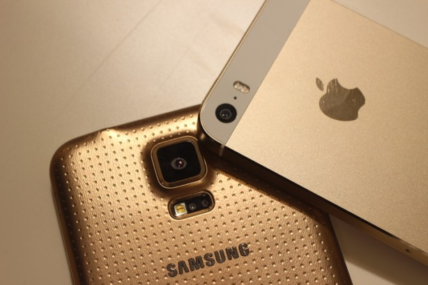 Galaxy S5 iPhone 5S