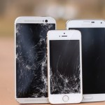 HTC One M8 vs Galaxy S5 vs iPhone 5S: ecco il primo drop test [VIDEO]