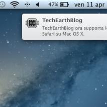 TechEarthBlogè da oggi compatibile con il sistema di Notifiche Push di Safari per Mac OS X Mavericks. Finalmente da oggi potrai ricevere comodamente sul tuo Mac le notifiche di TechEarthBlog per non perderti nemmeno un articolo pubblicato e ogni nuova […]