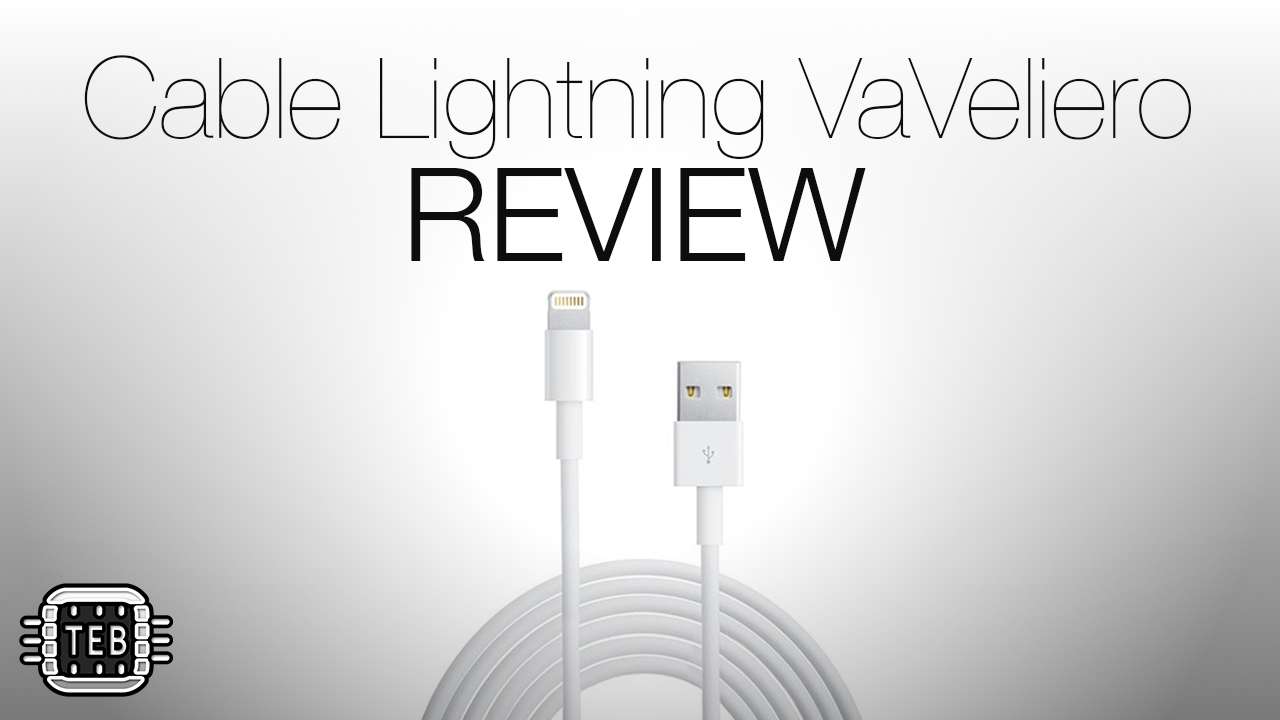 MINIATURA Cavo Cable Lightning di VaVeliero REVIEW