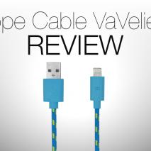 In questo video andremo a vedere più da vicino e a recensire il nuovo cavo Rope Cable di VaVeliero. Grazie a questo cavo potrete ricaricare il vostro dispositivo e sincronizzarlo collegandolo al computer.