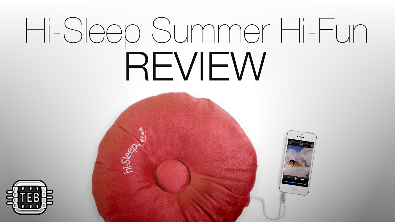 MINIATURA Cuscino Hi-Sleep Summer di Hi-Fun REVIEW