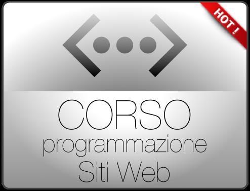Corso programmazione Siti Web