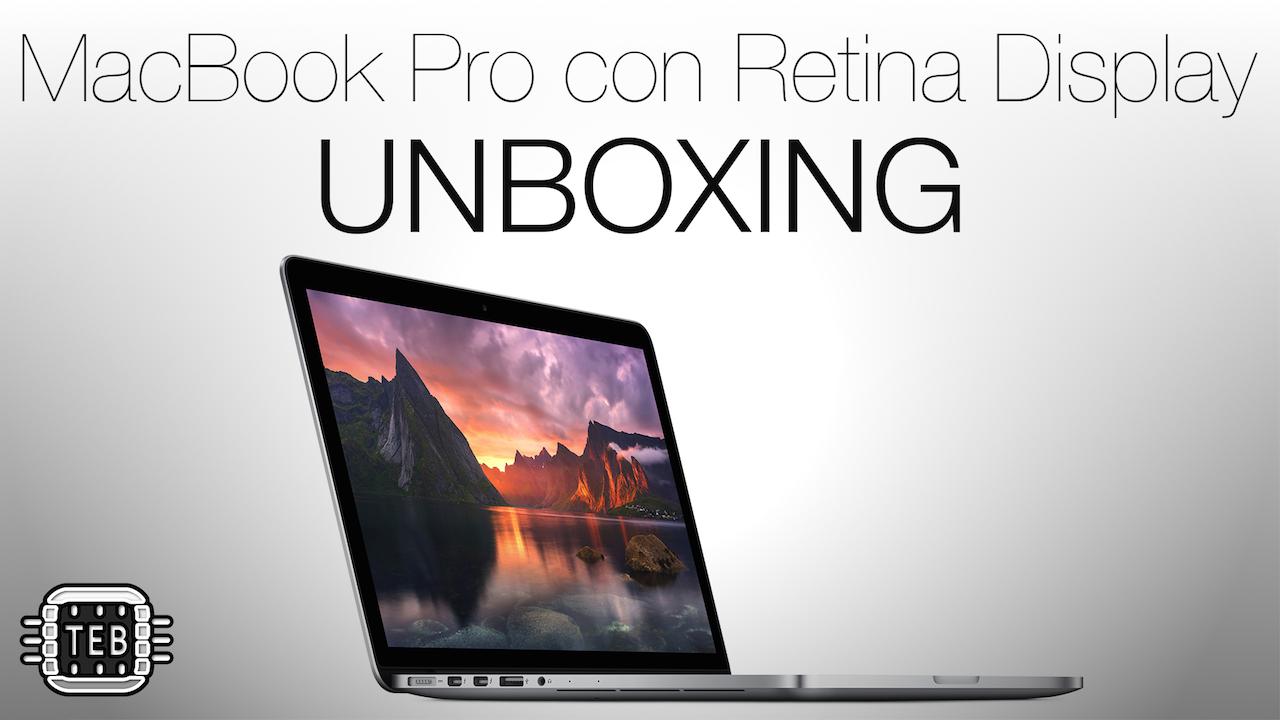 MINIATURA MacBook Pro