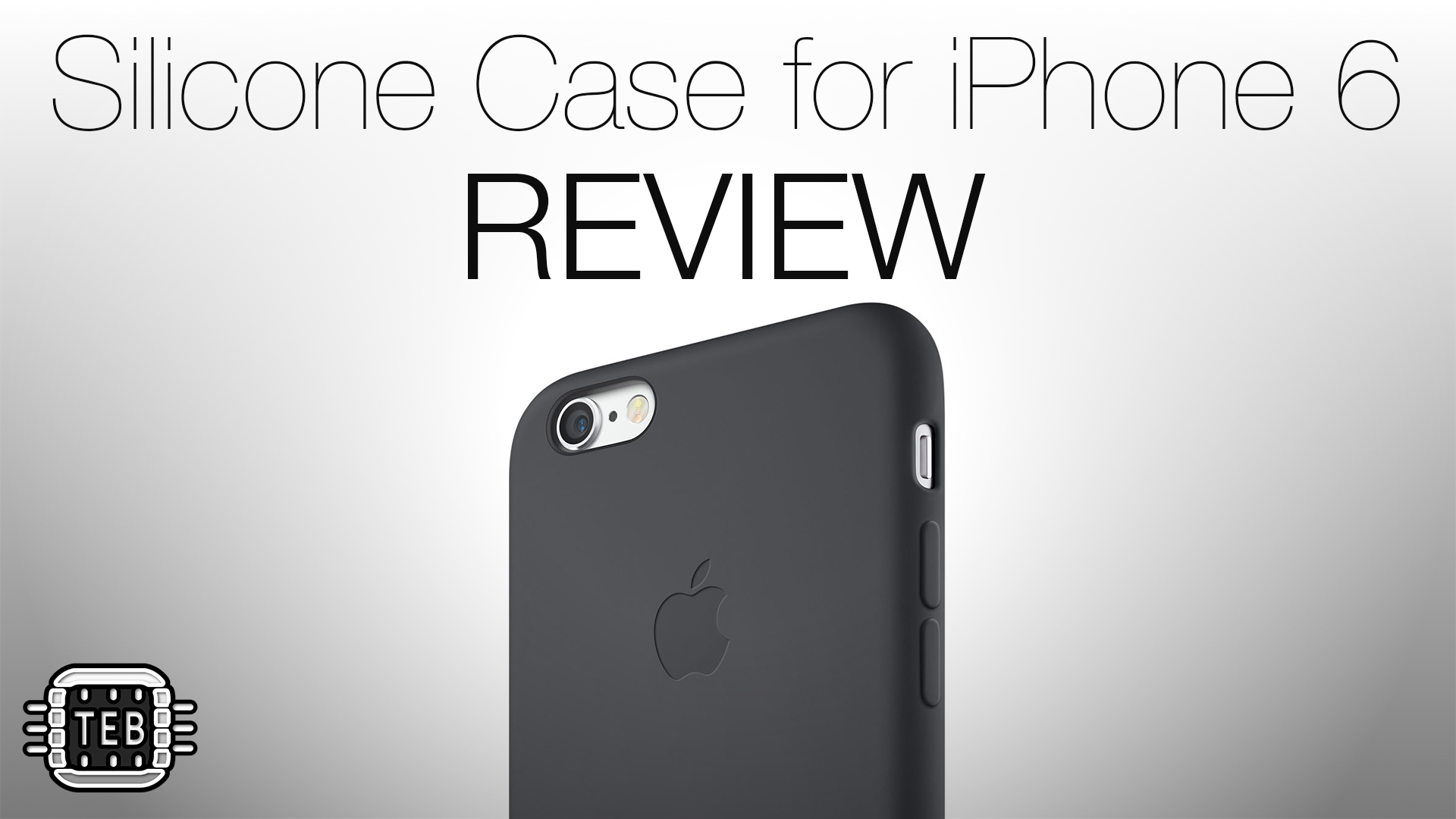MINIATURA Silicone Case Apple for iPhone 6 REVIEW