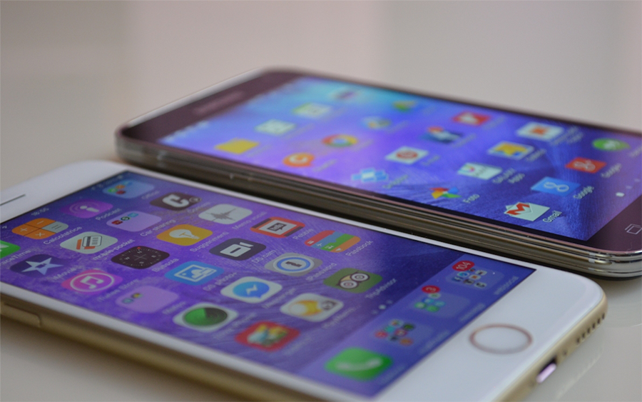 iPhone 6 Galaxy S5
