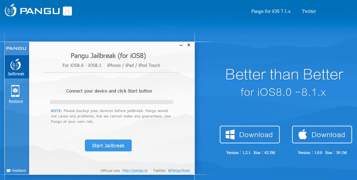 Il jailbreak di iOS 8 arriva anche su Mac: disponibile Pangu8 per OS X