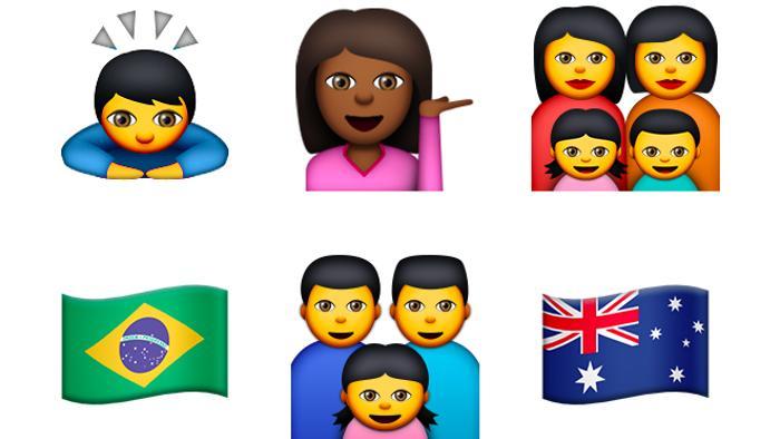 Nuove emoji di iOS 8.3 e OS X 10.10.3: Apple accusata di razzismo