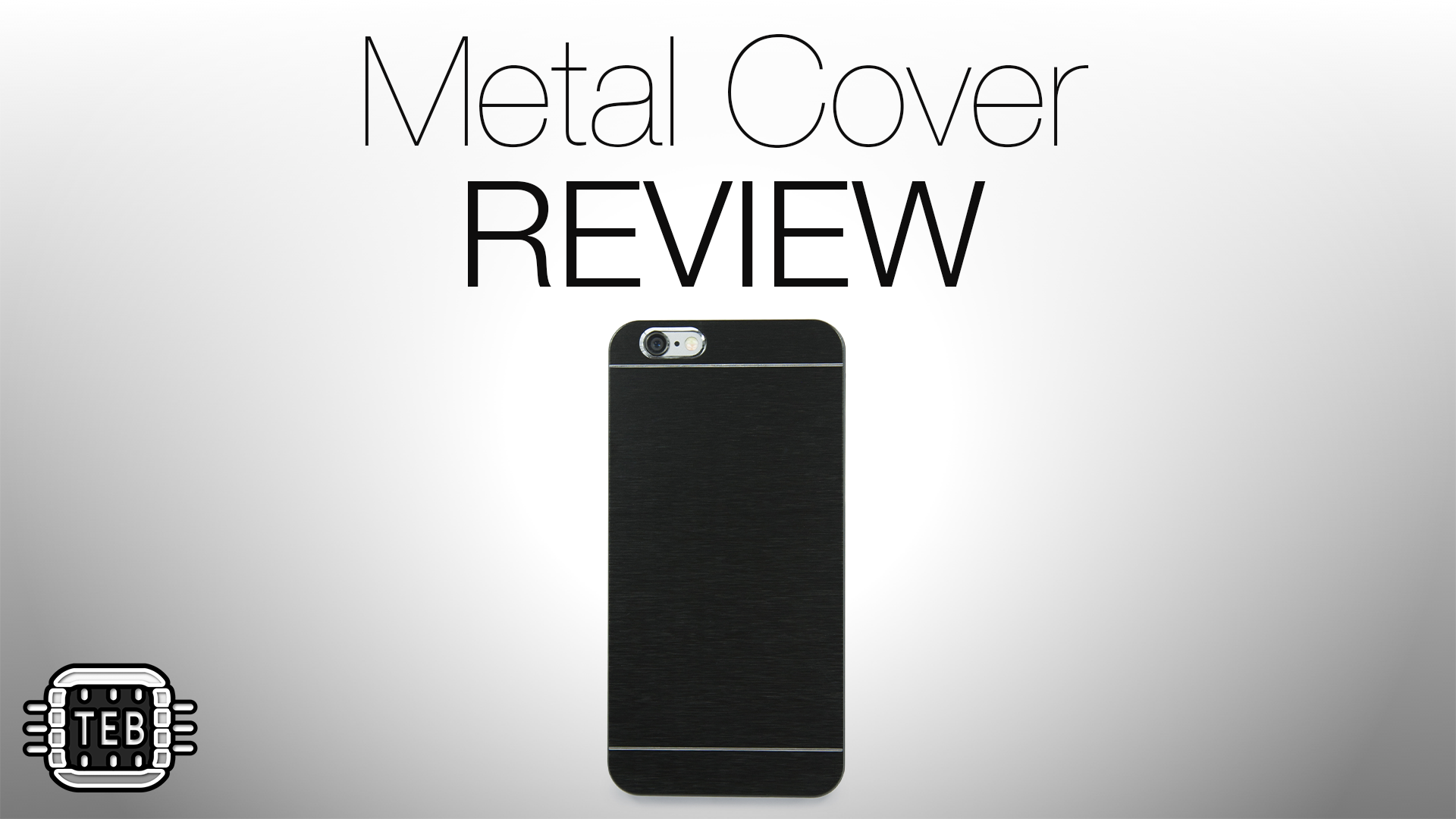 Custodia Metal Cover per iPhone 6 di VaVeliero: la REVIEW di TechEarthBlog [VIDEO]
