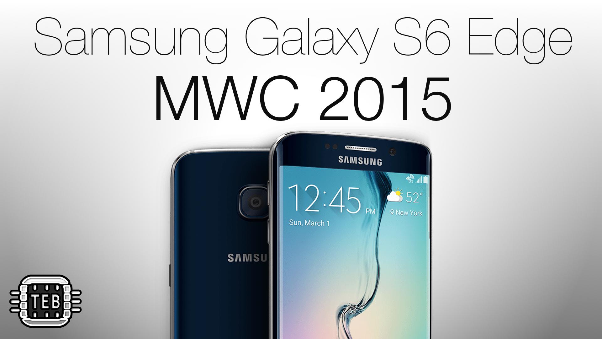 MWC 2015: ecco il nuovo Samsung Galaxy S6 Edge [FOTO + VIDEO]