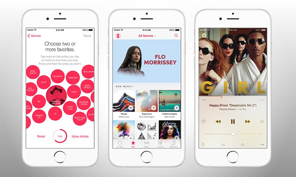 Apple Music: arriva il nuovo servizio di streaming musicale, ecco come funziona!
