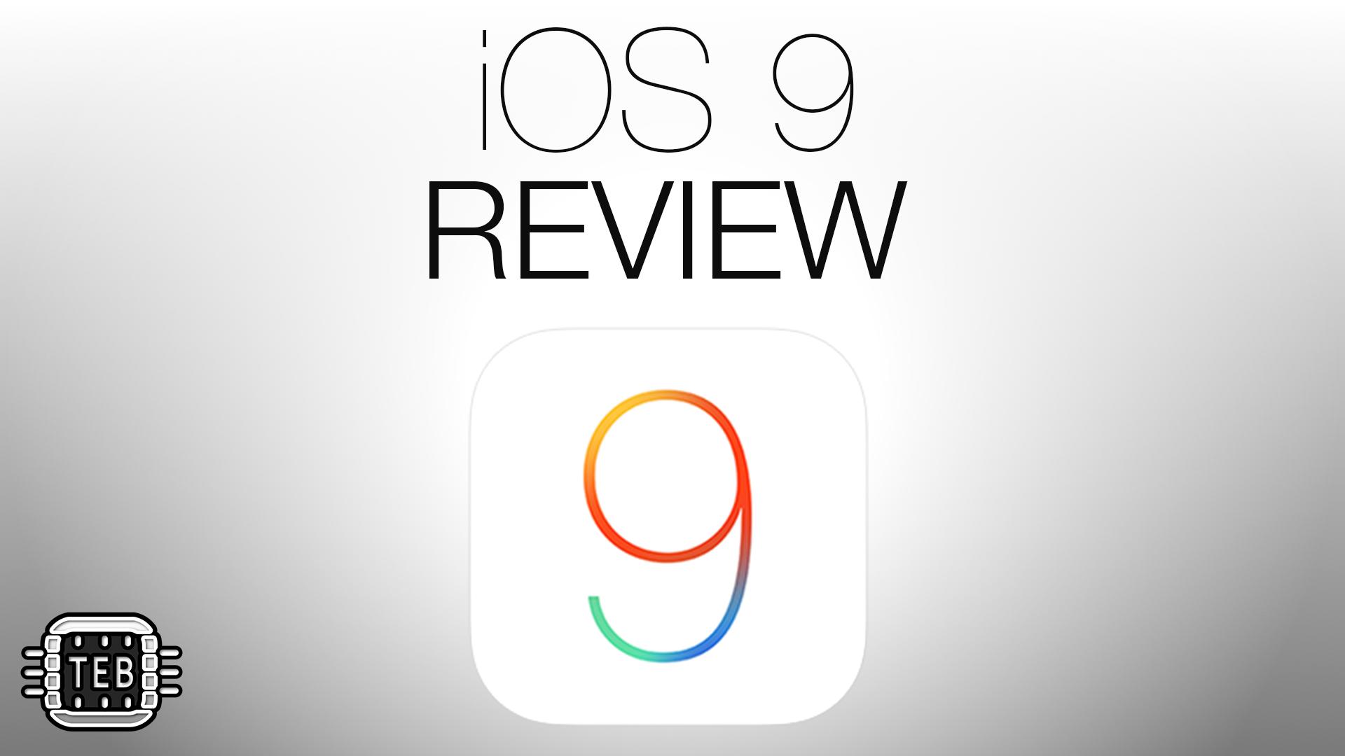 iOS 9: la REVIEW di TechEarthBlog [VIDEO]