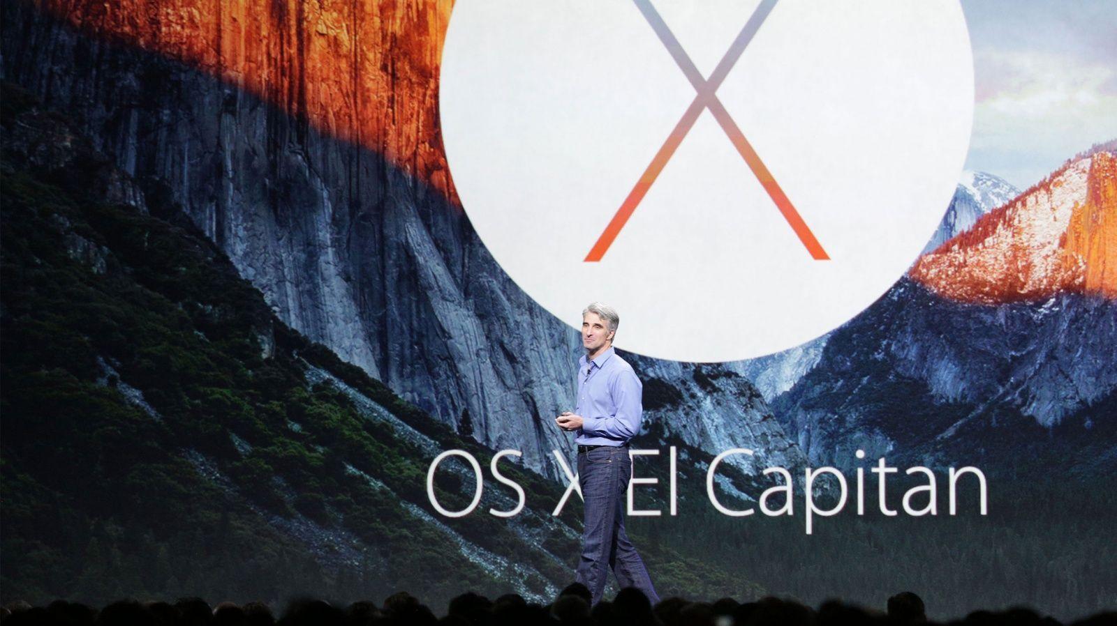 WWDC 2015: Apple presenta OS X El Capitan, tante nuove funzioni per il Mac!