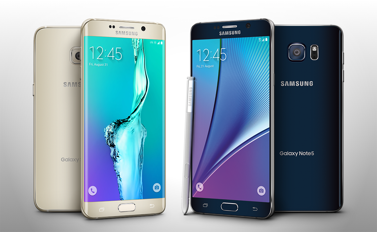 Samsung presenta i nuovi Galaxy Note 5 e Galaxy S6 Eedge+ [VIDEO]
