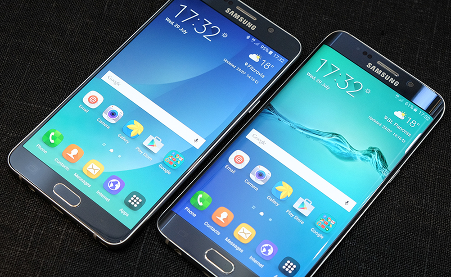 Samsung presenta i nuovi Galaxy Note 5 e Galaxy S6 Edge+ [VIDEO]
