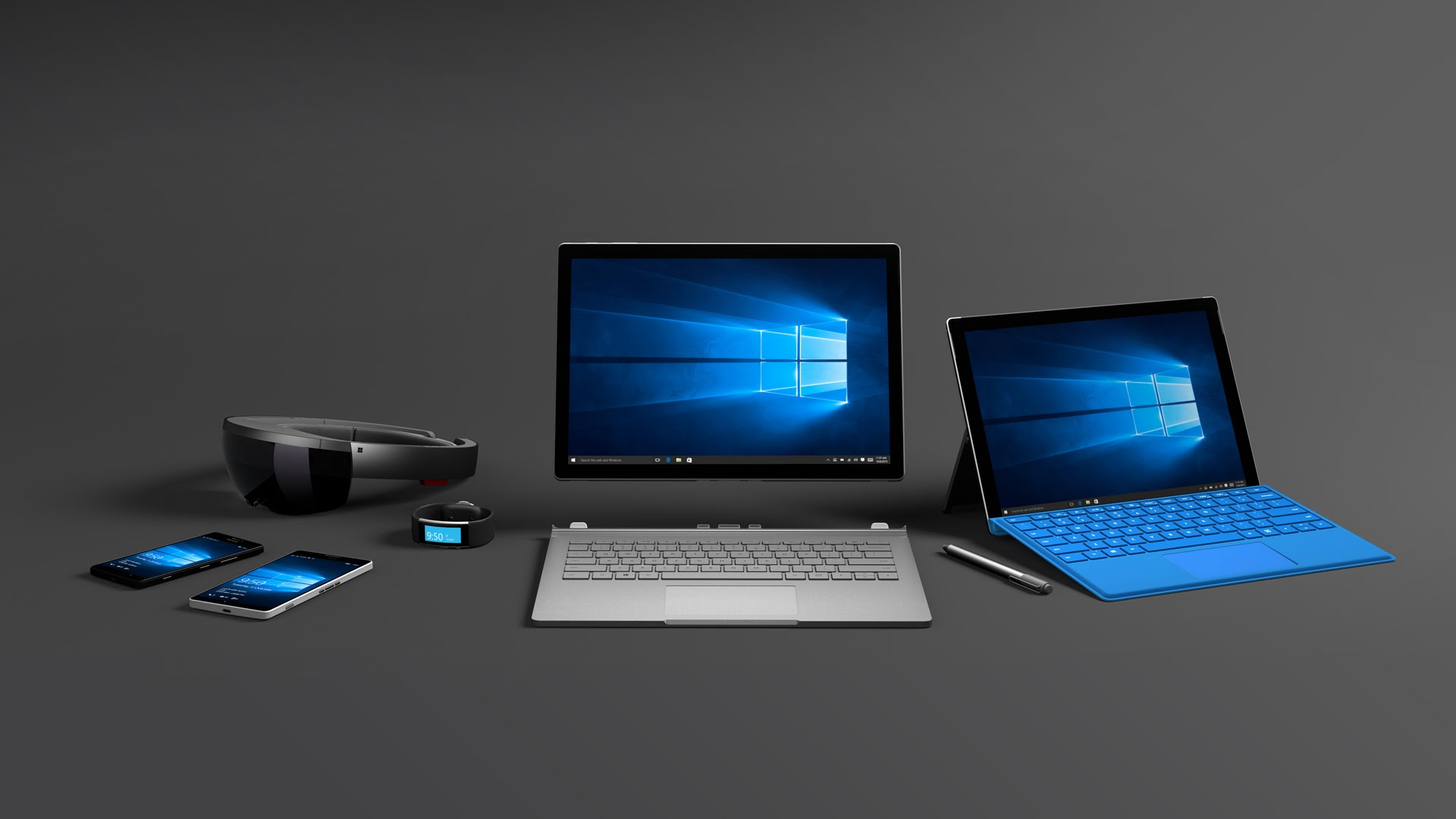 Microsoft presenta i nuovi Lumia 950 e 950 XL, Surface Pro 4, Surface Book e Band 2 [VIDEO]