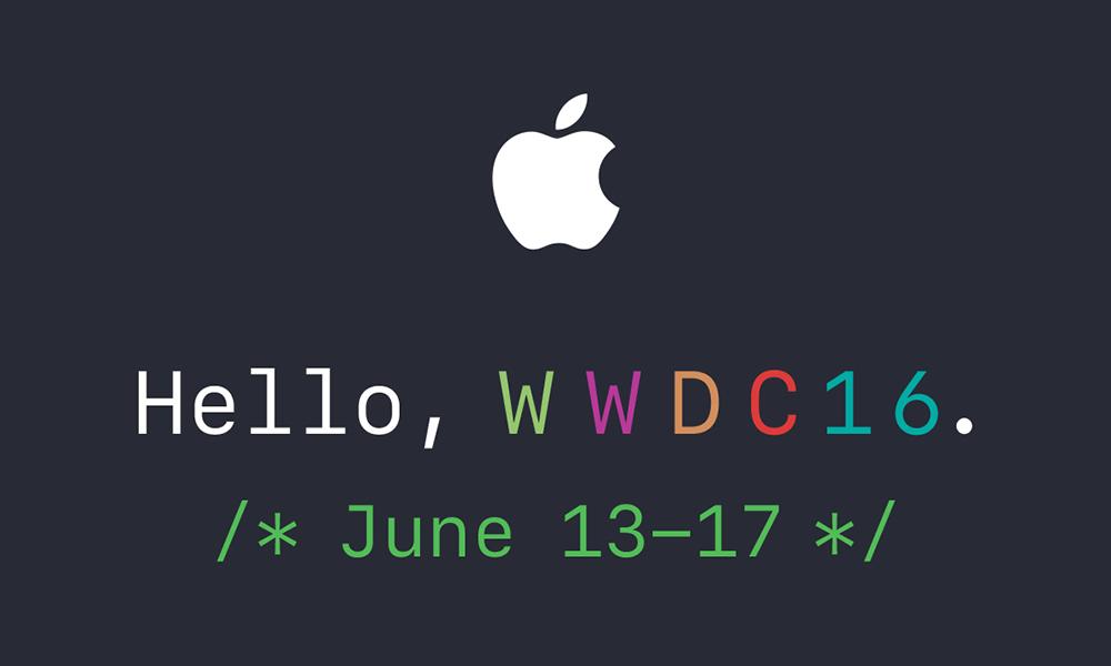 WWDC 2016: Apple fissa l'evento per il 13 giugno, tante novità in arrivo!