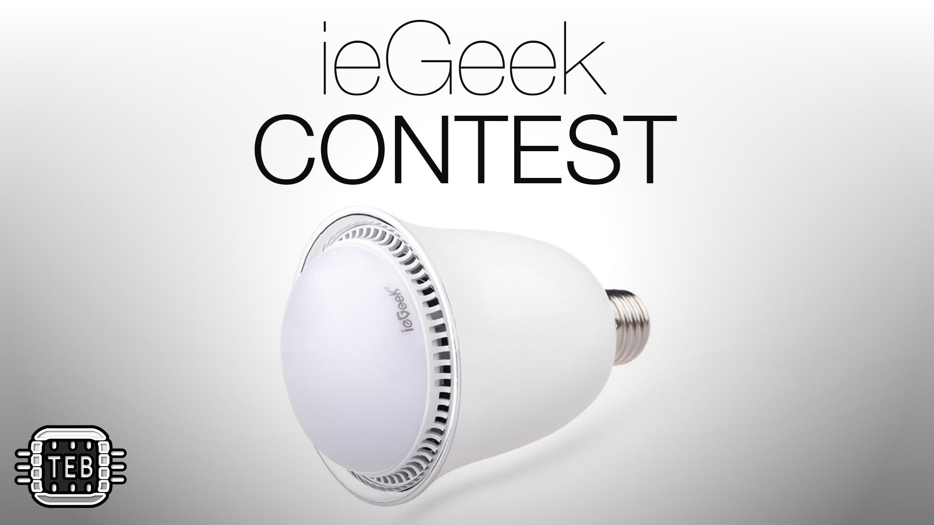 ieGeek: la lampadina Bluetooth che si comanda dallo smartphone [CODICE SCONTO]