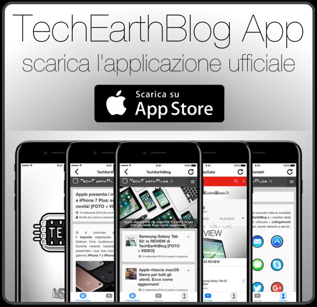 TechEarthBlog App 2.0: arriva su App Store la nuova app di TechEarthBlog per iPhone e iPad!